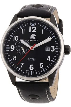 Carucci Analogue Automatic CA2180BK-WH Gents Watch