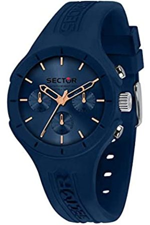 Sector No Limits Mens Analogue Quartz Watch with Silicone Strap R3251514015
