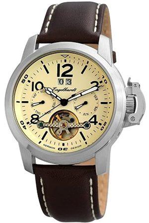 Engelhardt Men's Watch XL Analogue Automatic Leather 388927529006