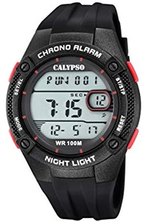 Calypso watches Mens Digital Quartz Watch with Plastic Strap K5765/3