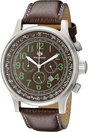 Wellington Men's Quartz Watch with Dial Chronograph Display and Stainless Steel Bracelet WN302-195