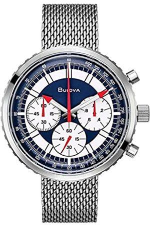 BULOVA Men's Analogue Quartz Watch with Stainless Steel Strap 96K101