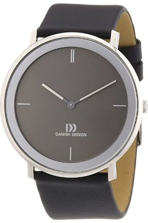 Danish Design Men's Quartz Watch with Dial Analogue Display and Gold Leather 3314441 XL
