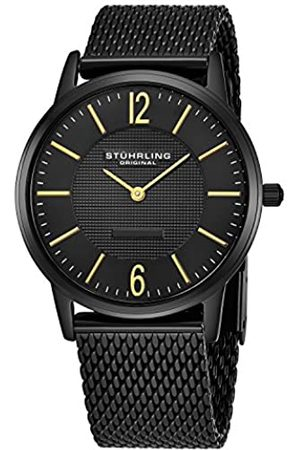 Stuhrling Classic Somerset Elite Men's Quartz Watch with Dial Analogue Display and Stainless Steel Bracelet 122.33551