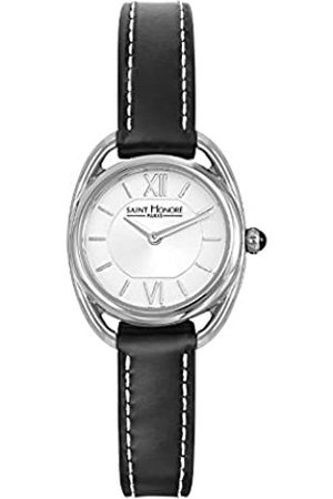 Saint Honore Women's Analogue Quartz Watch with Leather Strap 7210261AIN-BL