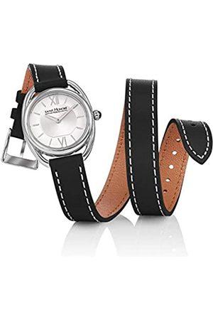 Saint Honoré Women's Analogue Quartz Watch with Leather Strap 7215261AIN-BL