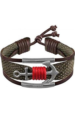 SECTOR GIOIELLI Men Stainless Steel Rope Bracelet - SALV03