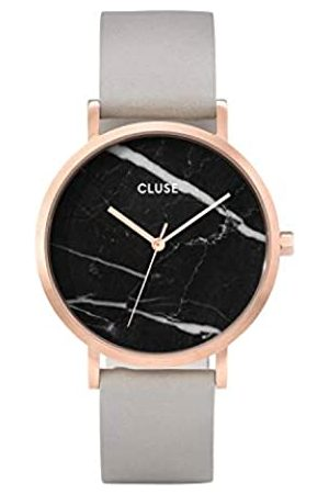 Cluse Womens Analogue Classic Quartz Connected Wrist Watch with Leather Strap CL40006