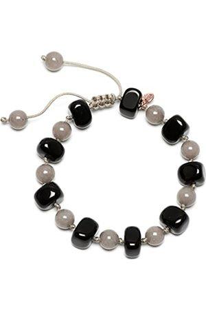 Lola Rose Sury Black Agate Moon Quartzite Bracelet