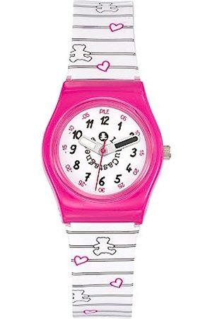Lulu Castagnette Girl's Watch – Analogue Quartz – Dial – 38773 – Bracelet Multicolor Plastic