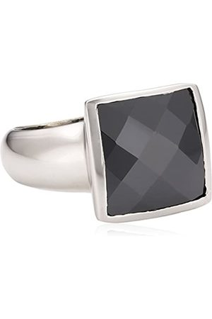 ZEEme Ladies' Ring with Black Cubic Zirconia EU Size 54 mm 342270022-054