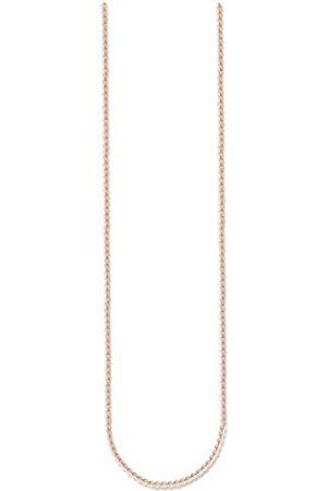 Thomas Sabo Women Men-Necklace Glam & Soul 925 Sterling Silver 18k rose plating Length from 45 to 50 cm KE1106-415-12-L50v