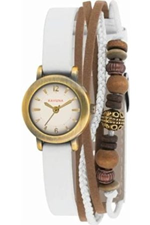 Kahuna Women's Quartz Watch with Dial Analogue Display and PU Strap AKLS-0200L