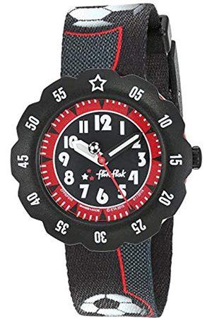 Flik Flak Boys' Analogue Quartz Watch with Textile Strap FPSP010