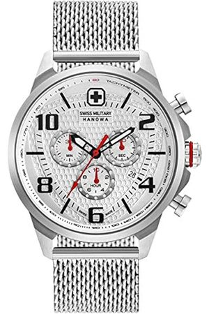 Swiss Military Mens Analogue Classic Quartz Watch with Stainless Steel Strap 06-3328.04.001