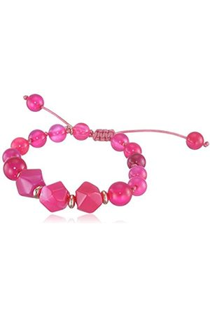 Lola Rose Women's Base Metal Cealy Scarlet Agate Bracelet of Length 22-30 cm