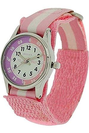 Reflex Girls Analogue Classic Quartz Watch with Textile Strap REFK0005