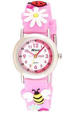 Ravel Girls Analogue Buzzy Bee and Ladybird Quartz Watch with PU Strap.R1513.83