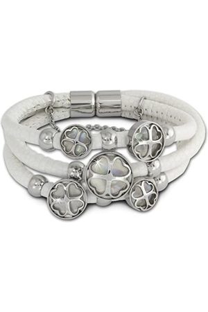 Amello VLAQ005W9 Mother of Pearl Bracelet Stainless Steel