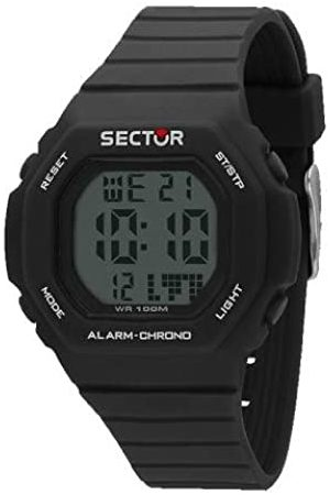 Sector Mens Digital Watch with Silicone Strap R3251599001