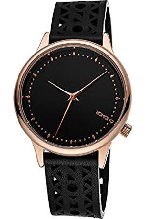 KOMONO Women's Analogue Quartz Watch with Leather Strap – KOM-W2651