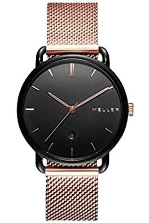 MELLER Unisex Adult Analogue Quartz Watch with Stainless Steel Strap W3N-2ROSE