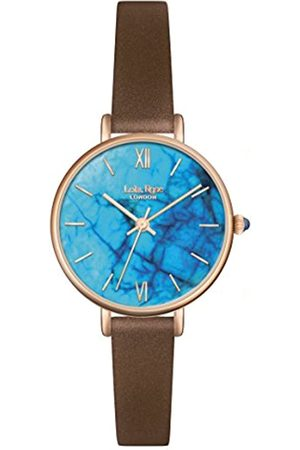 Lola Rose Women's Quartz Watch with Turquoise Dial Analogue Display and Leather Strap LR2040