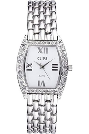 CLIPS Women's Quartz Watch with Dial and Metal Strap 554-2606-88