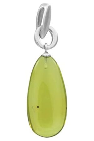 Nature d'Ambre 3160904 Women's Pendant - Fine 925/1000 Sterling Silver with Amber - 2.1 g