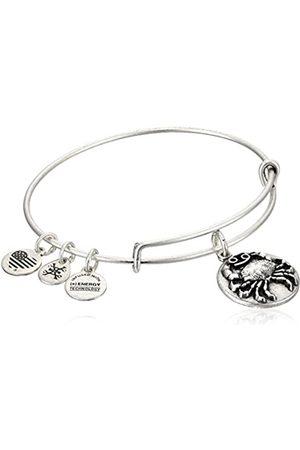 Alex And Ani Cancer Zodiac Expandable Charm Bracelet-Tone