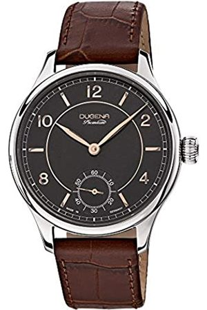 DUGENA Men's Premium hand driven Watch with Dial Analogue Display and Leather Strap