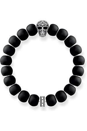 Thomas Sabo Men Silver Stretch Bracelet - A1702-705-11-L19.5