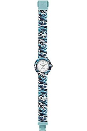 Hip Watches - Women's Blue Watch HWU0862 - I Love Japan Collection - Silicone Strap - 32mm Case - Waterproof