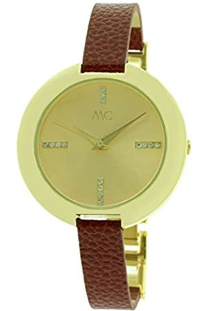 MC Women's Quartz Watch 51447 with Leather Strap