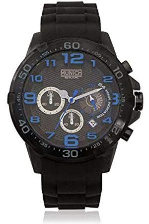 Munich Unisex Adult Analogue Quartz Watch with Rubber Strap MU+137.1C