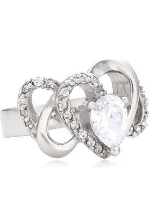 Mike Ellis Stainless Steel Cubic Zirconia Rings