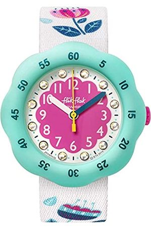 Flik Flak Unisex_Adult Analogue Swiss Quartz Watch with Textile Strap FPSP038