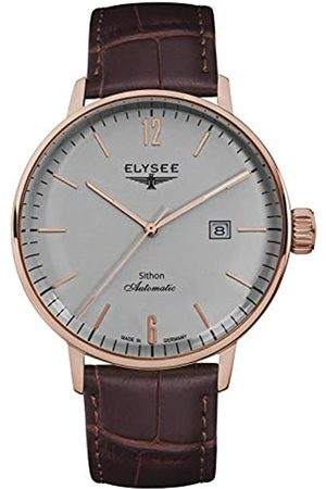 ELYSEE Unisex Adult Analogue Automatic Watch with Leather Strap 13282