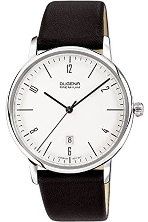 DUGENA Men's Premium Quartz Watch with Dial Analogue Display and Leather Strap