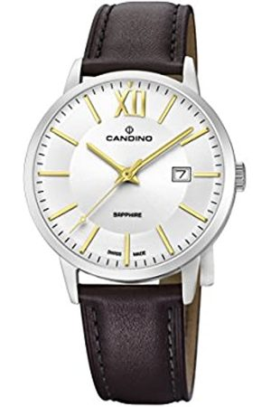 Candino Mens Analogue Classic Quartz Watch with Leather Strap C4618/2
