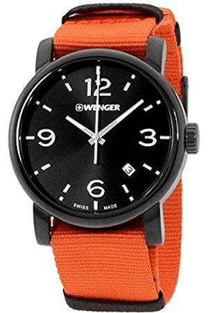 Wenger Men's Analogue Quartz Watch with Nylon Strap 01.1041.131