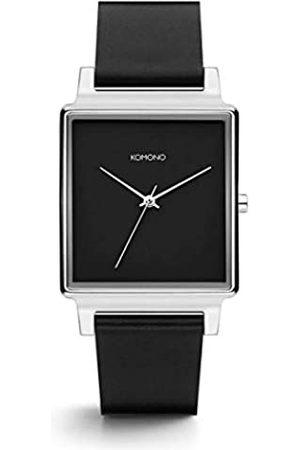 Komono Unisex Adult Analogue Quartz Watch with Leather Strap KOM-W4201