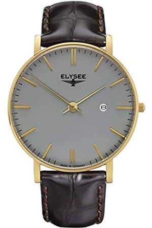ELYSEE Unisex Adult Analogue Quartz Watch with Leather Strap 98002.0