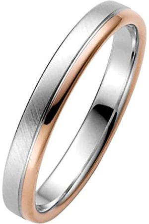 Trauringe Liebe hoch zwei Liebe2 03050610725858 Men's Wedding Ring - 14-Carat Two-Tone 585/1000