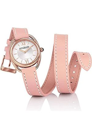 Saint Honore Women's Analogue Quartz Watch with Leather Strap 7215268AIR-PIN