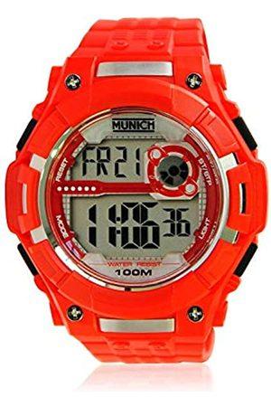 Munich Unisex Adult Digital Quartz Watch with PU Strap MU+113.4A