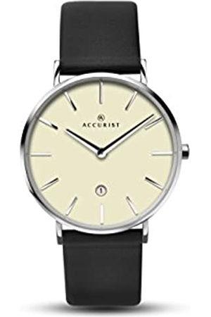 Accurist Men's Analogue Quartz Watch with Leather Strap 7144.01