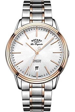 Rotary Men's Quartz Dial Analogue Display and Two Tone Stainless Steel Bracelet GB90162/59