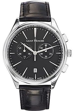 Saint Honore Men's Analogue Quartz Watch with Leather Strap 8850171NIN