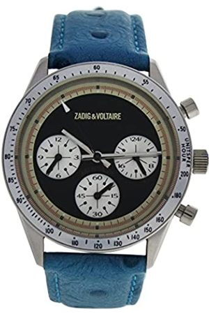 Zadig & Voltaire Unisex Watch Analogue Display and Leather Strap ZVM106